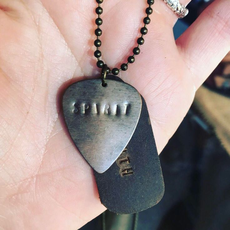 The 25 best guitar pick necklace ideas on pinterest guitar leather and antique gold guitar pick necklace spirit and truth by truenorthnavigation on etsy https mozeypictures Image collections