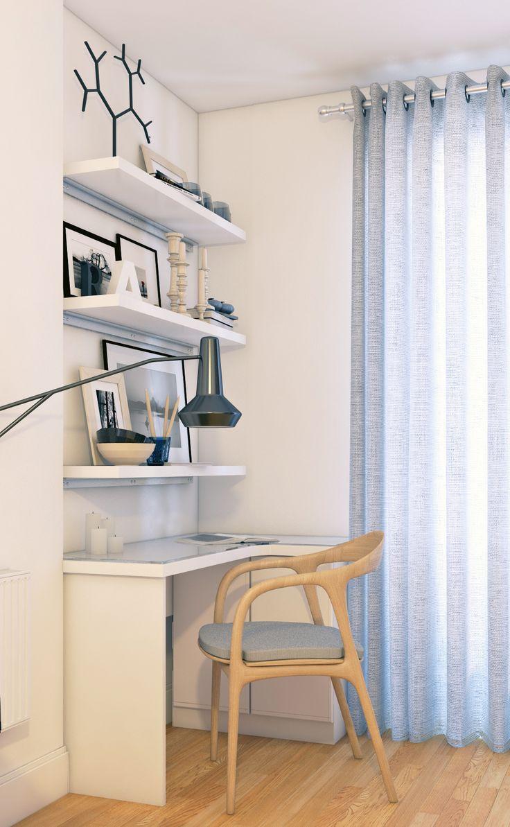 projet en Cours/petit appartement parisien/coin bureau