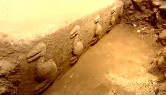 Gobekli Tepe -  is an archaeological site at the top of a mountain ridge in the Southeastern Anatolia Region of Turkey, northeast of the town of Şanlıurfa.