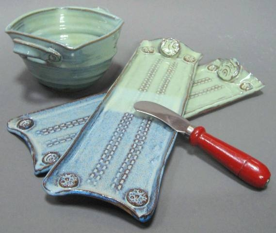 Graphic Tray Handcrafted From Ivory And: 17 Best Images About Clay: Platters & Trays On Pinterest