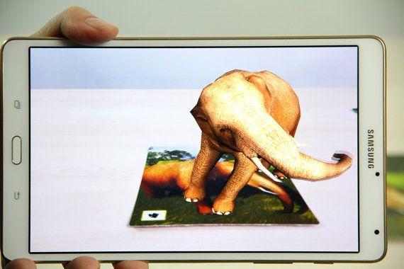 Elephant cards printable cards kids games games by OrangeKiteLabs