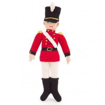 Anne-Claire Petit Crochet Soldier Doll