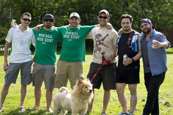 Montréal irish supporters, rugby. crédit photo : LaMalice photographie