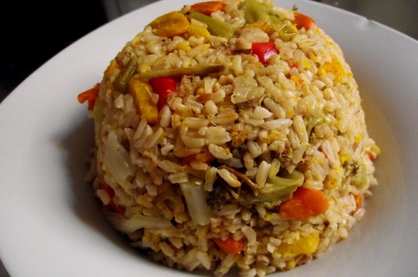 Tuna rice /Dominican Heat   Traditional Dominican Food at its best…
