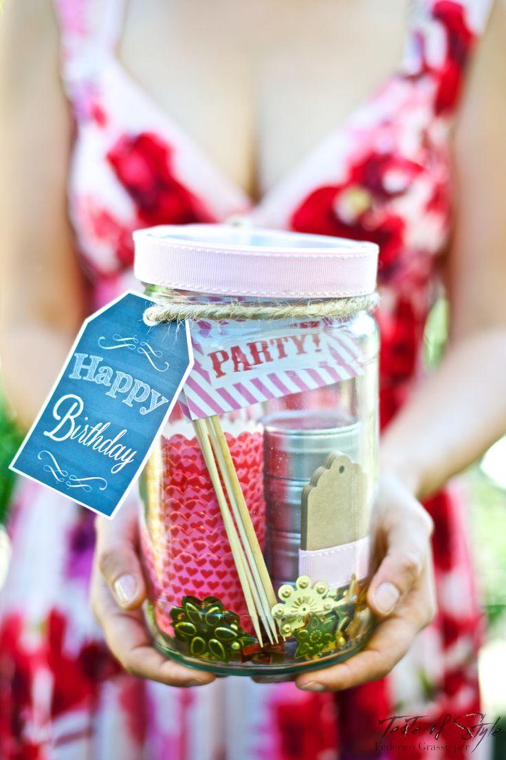 Birthday jar