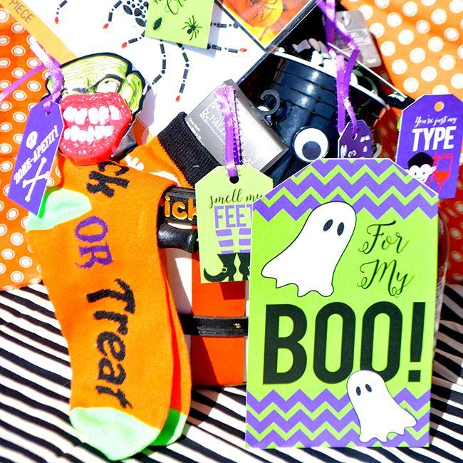 To My BOO: Halloween Gift Basket