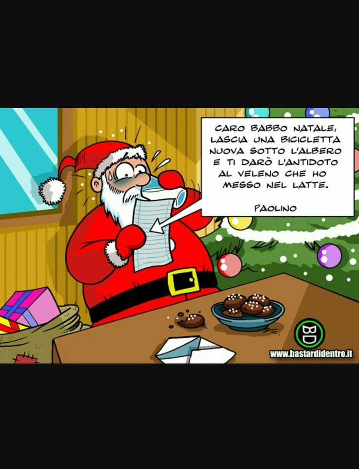 Neanche Babbo Natale è risparmiato....