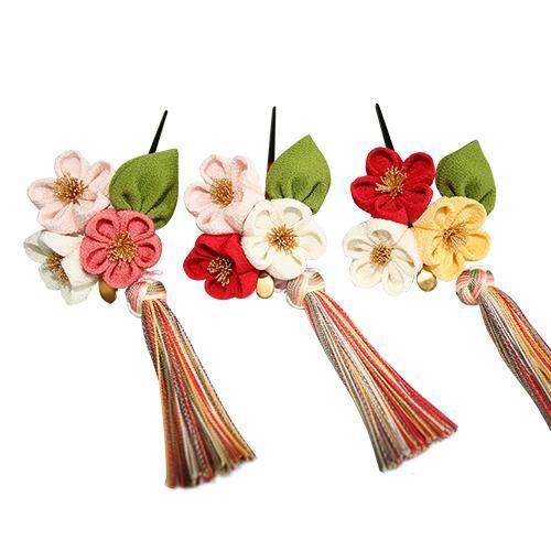 kanzashi pins