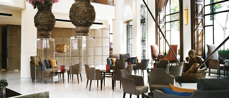 The Lobby Bar, at One Aldwych Hotel, London. One of the top five hotel bars in the world by the Sunday Telegraph.