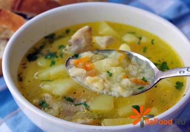 Суп крестьянский с крупой пшено