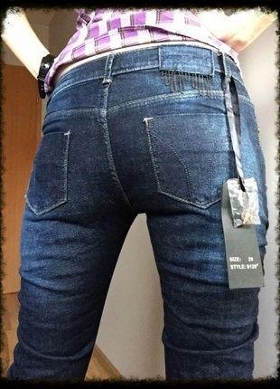 Kup mój przedmiot na #vintedpl http://www.vinted.pl/damska-odziez/dzinsy/11647917-spodnie-wytarte-jeansy-36