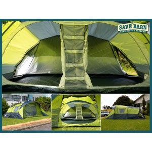 Family Camping Tent 6-8 Person 3 Room Tents #Shoproads #onlineshopping #Outdoor Play Toys