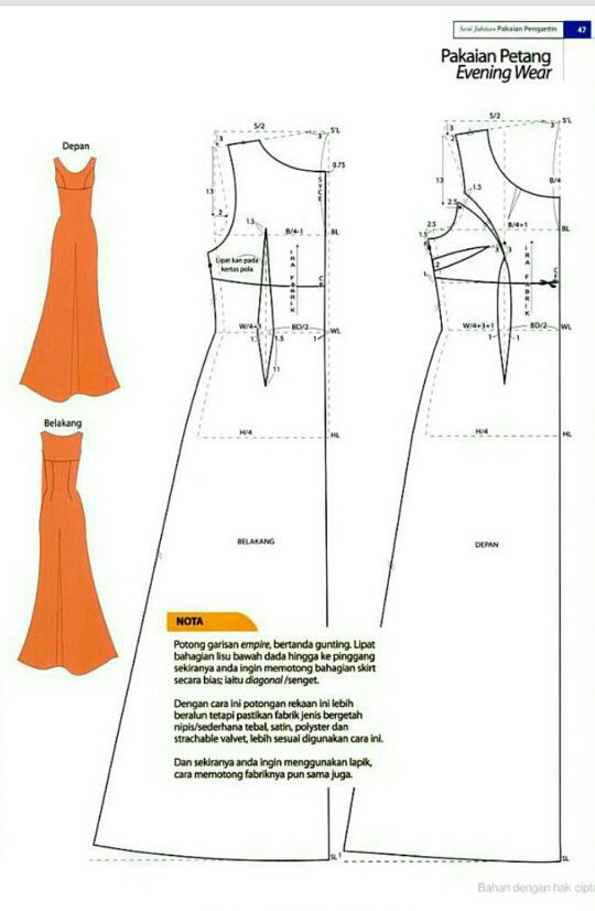 vogue evening dress patterns