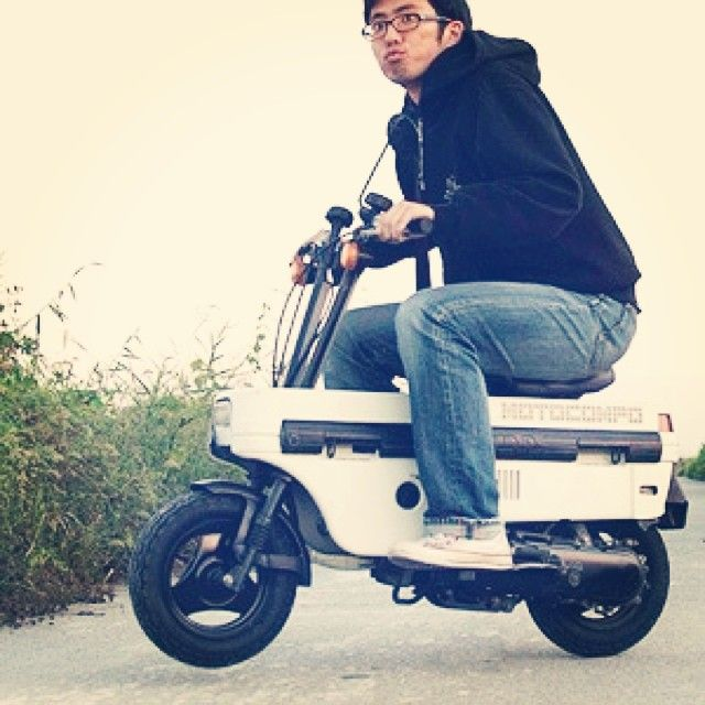 「If it had not had a problem of maintenance, I might have this. #honda #motocompo」