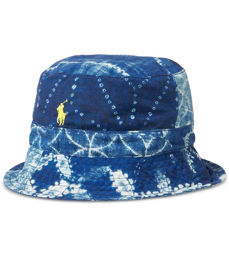 Polo Ralph Lauren Men's Shibori Reversible Bucket Hat