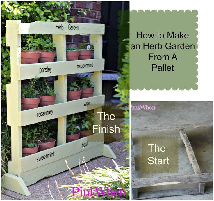 Pallet-Herb-Garden.jpg 853×800 pixels