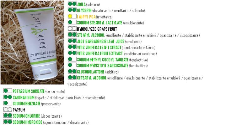 Anthyllis - Latte detergente e struccante