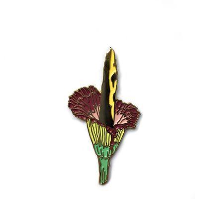 Pins & Patches :: LAPEL PINS :: Titan Arum Enamel Pin