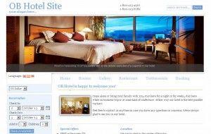 ob hotel template