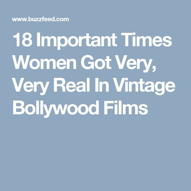 18 Important Times Women Got Very, Very Real In Vintage Bollywood Films
