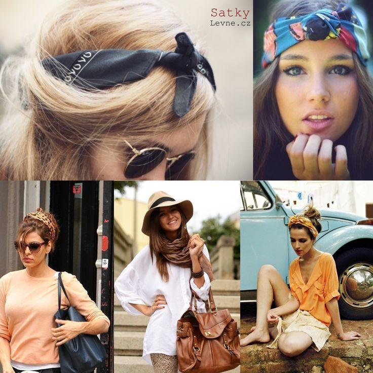 Je to pouze na Vás, jak budete stylové   http://www.satkylevne.cz/www/cz/shop/satky-do-vlasu/