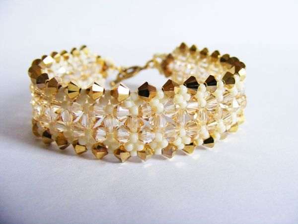 LUXURY GOLD-DREAM STYLE BRACELET from luxurybeadjewelry.co.uk