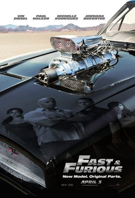 Fast & Furious 4 - (2009) | Brian O'Conner, now working for the FBI in LA, teams up with Dominic Toretto to bring down a heroin importer by infiltrating his operation.