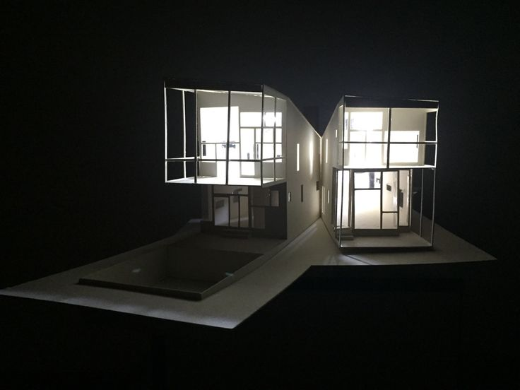 Y House by Steven Holl #3Dmodel 1:50