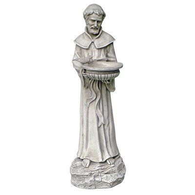Outdoor Décor Design Toscano Saint Francis Natures Patron Saint Statue  Antique Stone * Find Out