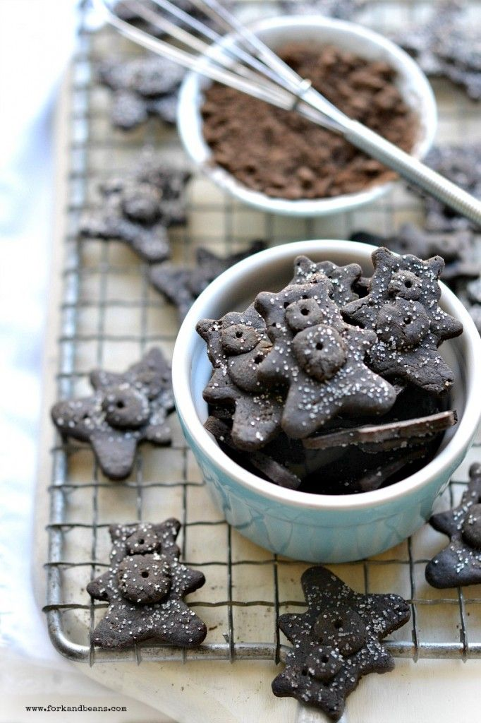Homemade Gluten Free Chocolate Teddy Grahams - I can't tell you how excited I was to find this recipe!~GF Cheryl~