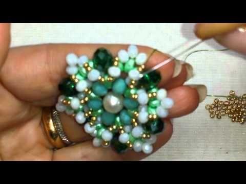 Ciondolo Stone collaborazione con Perline e Gioielli (DIY - Pendant Stone) - YouTube