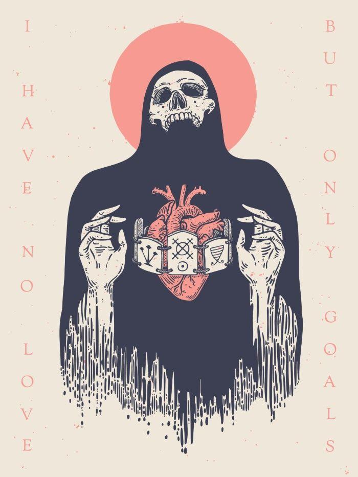 No Goals Art Print by Andbloom | Society6