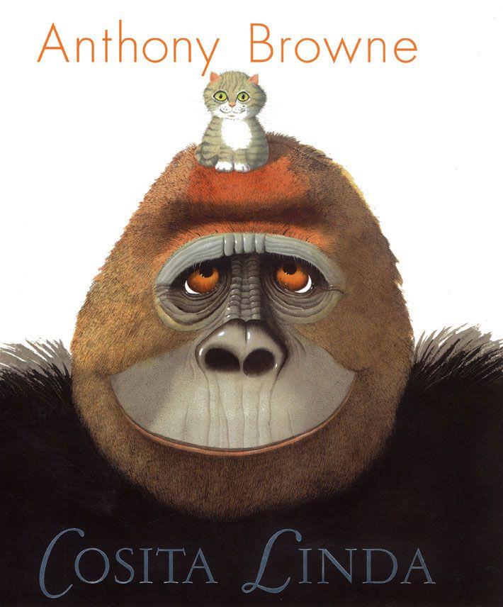 Cosita Linda Esta es la historia de un gorila que sabe comunicarse por señas, y gracias a ello tiene todo lo que quiere: comida, bebida, diversión. Sin embargo, se siente solo y decide pedir a sus cuidadores un poco de compañía. Una historia cargada de ternura y con ciertas dosis de humor, idónea para introducir a los prelectores en el rico universo gráfico de Anthony Browne, en el que, por otro lado, rara vez faltan los gorilas... -