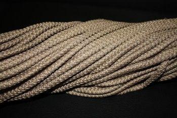 шнур с сердечником 5мм полиэфирный кофе - Шнуры для рукоделия