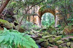 Lennox Bridge Mitchells Pass