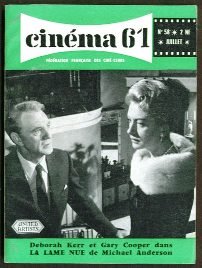 Gary Cooper and Deborah KerrCinema Covers, Covers Gallery, Covers 50 99, Magazines Covers