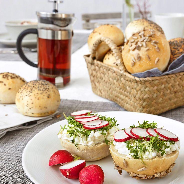 Saftiga frukostfrallor som blir extra smakrika genom kalljäsning.