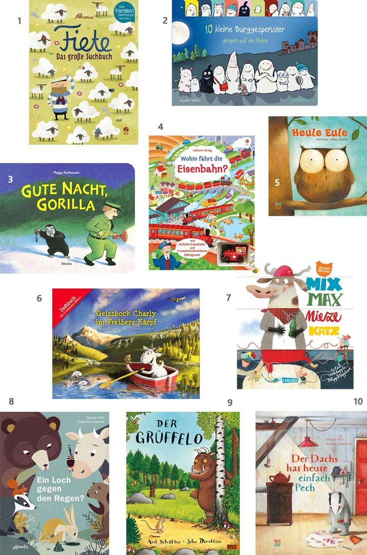 Lesestoff: Unsere 10 liebsten Kinderbücher – Julia