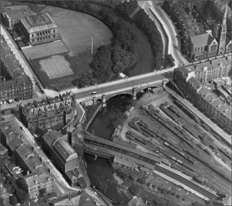 Old Glasgow — Kelvinbridge Station (1896-1964), ex Glasgow Central Railway, later Caledonian Railway