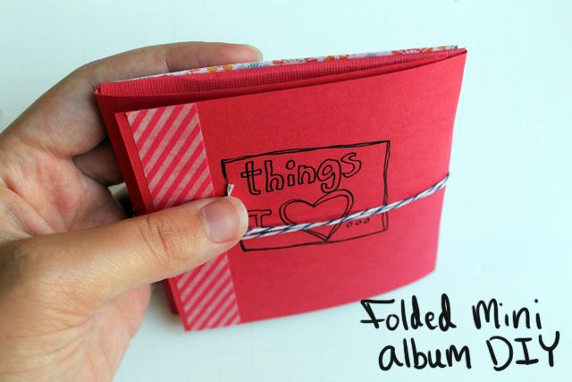 Folded Mini Album from Punk Projects: Minis Book, Folding Minis, Punk Projects, Minis Album, Mini Albums, Scrapbook Minialbum, Paper Crafts, Album Diy, Journals Scrapbook