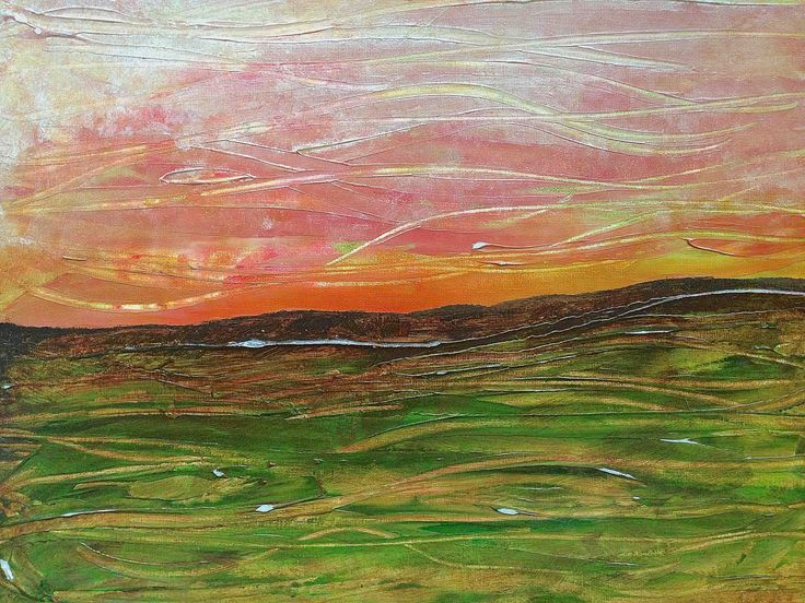 Landscape  acrylic on canvas