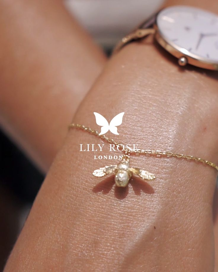 Our enormously popular Gold Bumble Bee Bracelet also available in Sterling Silver. Free Delivery and Free Gift Box