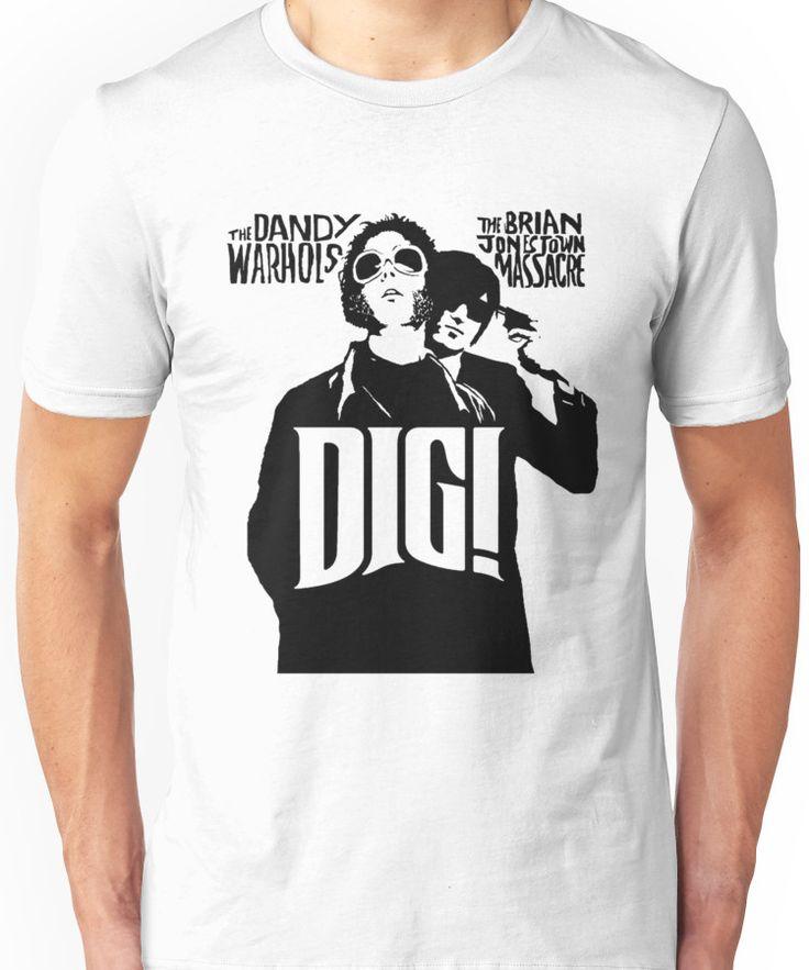 DIG! - THE BRIAN JONESTOWN MASSACRE Unisex T-Shirt