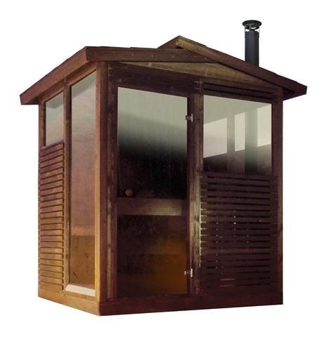 Kota Outdoor Sauna Cabin Kit Crag Lake Outdoor Sauna
