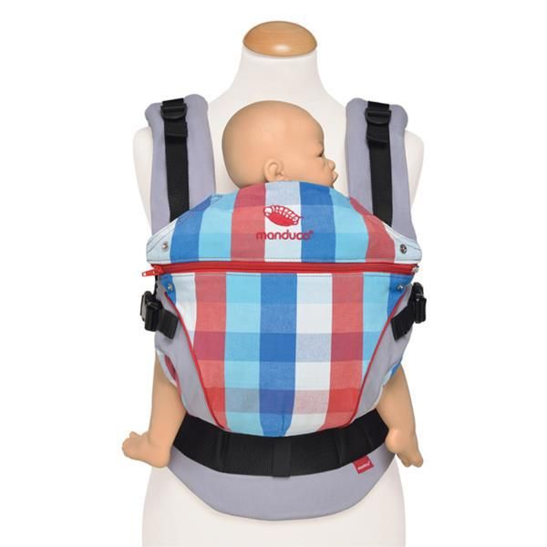 Baby Carriers Australia - Manduca - Limited Edition - Vivid Red 100% Organic…