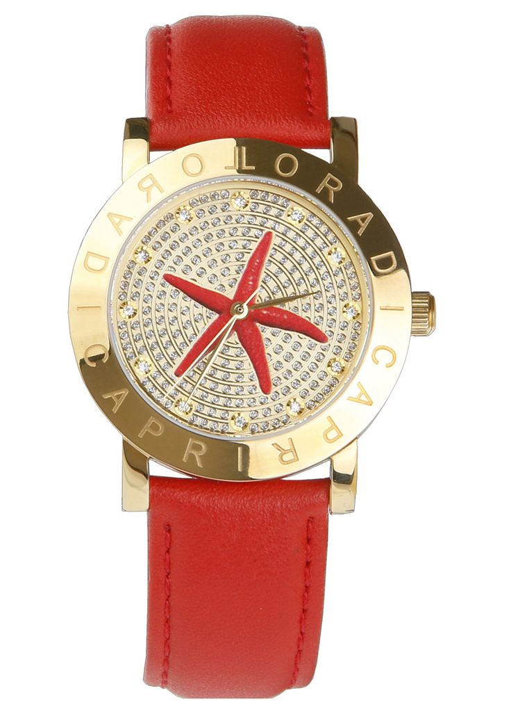 The Sea Star red watch.