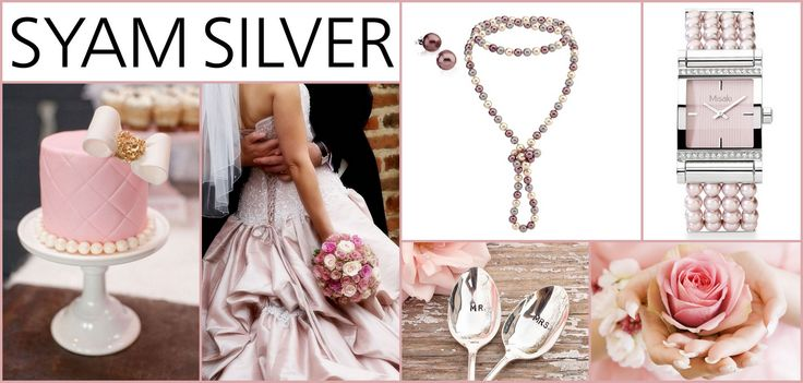 Romantikus rózsaszín esküvő - Misaki ékszerrel kiegészítve