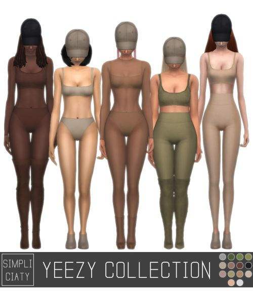 """simpliciaty: """" Yeezy Inspired Collection So I didn't quite knew how to show of the collection, it might look like much but it's only 5 pieces xD You can pair them up like I show you in the pics, and there's many other ways, feel free to experiment..."""