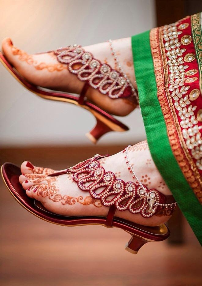 Indian Wedding Shoes Flats