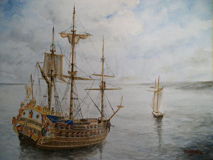 Galeón San José 1699-1708. Hecho histórico: Flota de galeones de Tierra Firme. Hundido por los ingleses frente a Cartagena de Indias. Astilleros: